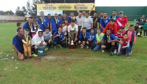 Casa Tequilera campeon de Segunda Fuerza temporada 2015-2016